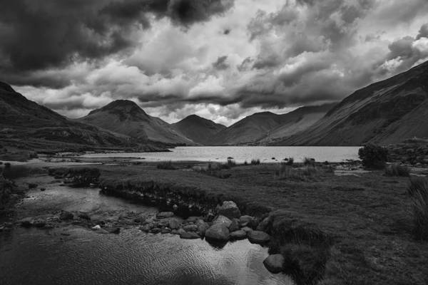 Wall Art - Photograph - Wast Water by Graham Moore