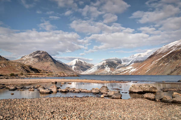 Wall Art - Photograph - Wast Water Reflections by Chris Frost