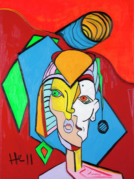 Painting - Waste 40x30 by Hans Magden