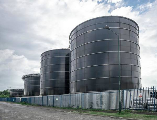 Ad Photograph - Waste-to-energy Anaerobic Digestion Plant by Robert Brook/science Photo Library