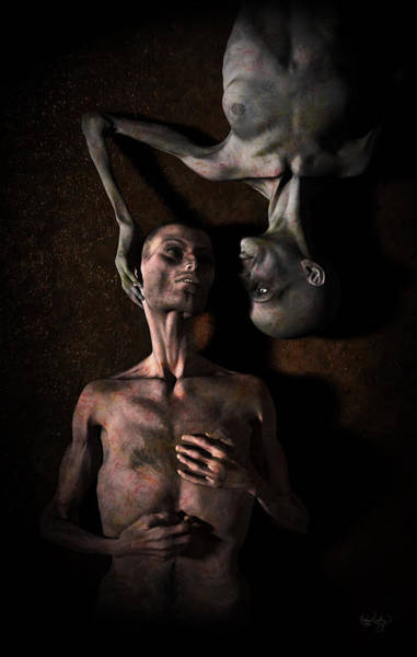 Digital Art - Wasted Time by Matt Lindley