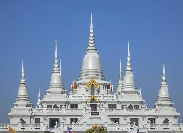 Photograph - Wat Asokaram Phra Thutangkha Chedi Dthsp0004 by Gerry Gantt