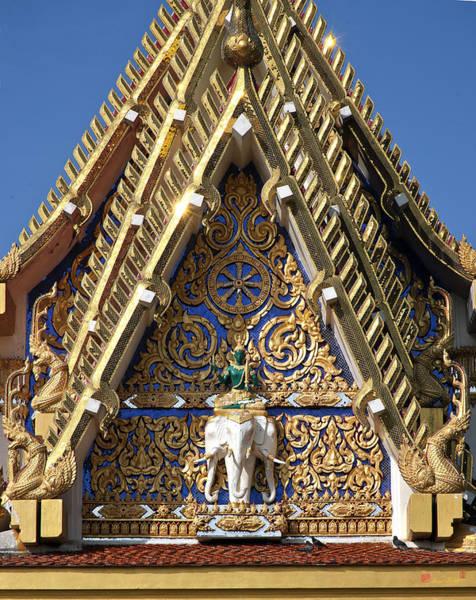 Photograph - Wat Ban Na Muang Wiharn Gable Dthu420 by Gerry Gantt