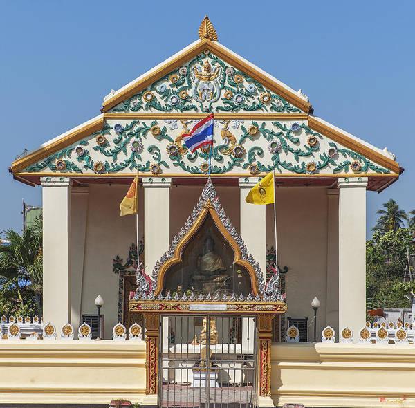 Photograph - Wat Bang Phueng Phra Ubosot Dthb1864 by Gerry Gantt