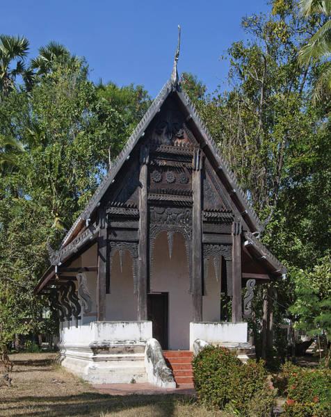 Photograph - Wat Chaeng Ubosot Dthu229 by Gerry Gantt