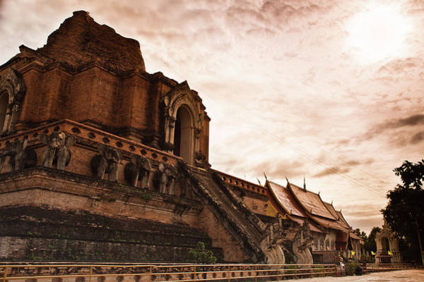 Chiang Mai Province Photograph - Wat Chedi Luang, Chiang Mai Thailand by Edenexposed