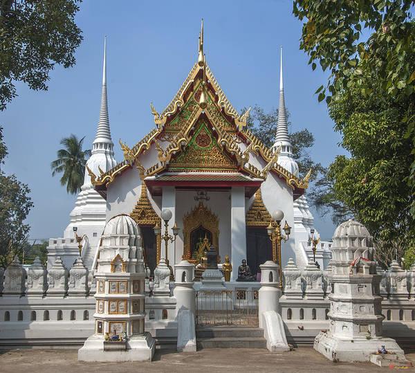 Photograph - Wat Chumphon Nikayaram Phra Ubosot Dtha0120 by Gerry Gantt