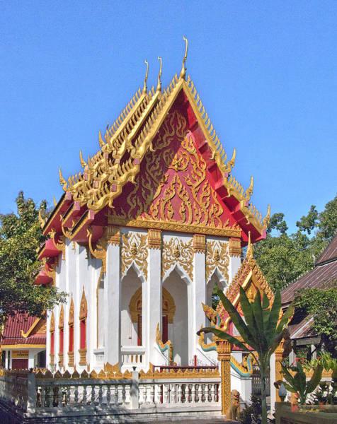 Photograph - Wat Khong Chiam Ubosot Dthu085 by Gerry Gantt
