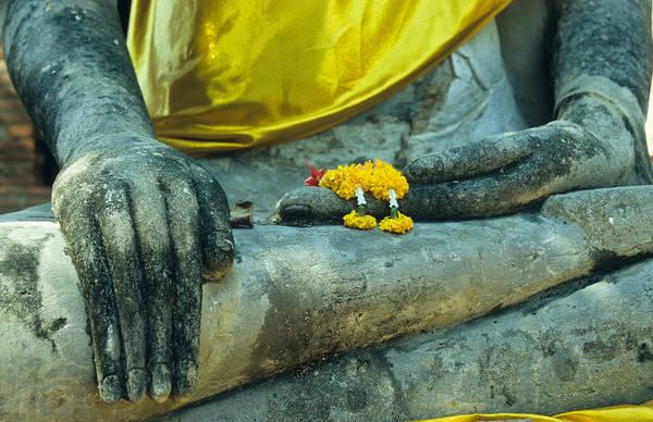 Photograph - Wat  Mahathat by Maria Heyens