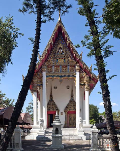 Photograph - Wat Maneewanaram Ubosot Dthu663 by Gerry Gantt