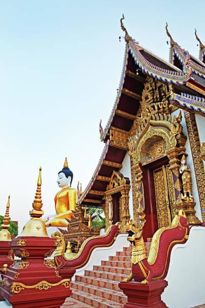 Chiang Mai Province Photograph - Wat Monthian, Chiang Mai, Thailand by John W Banagan