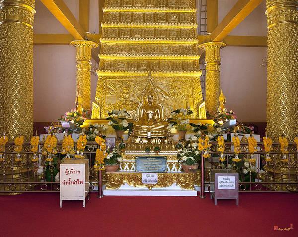 Photograph - Wat Nong Bua Main Stupa Buddha Dthu457 by Gerry Gantt