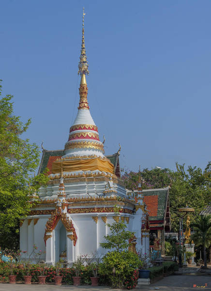 Chang Mai Wall Art - Photograph - Wat Pa Phrao Nok Phra Chedi And Phra Ubosot Dthcm0760 by Gerry Gantt