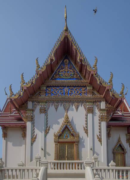 Photograph - Wat Phichai Songkhram Phra Ubosot Side Entrance Dthsp0045 by Gerry Gantt