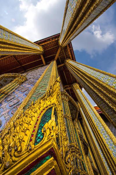Wat Phra Kaeo. Bangkok Art Print