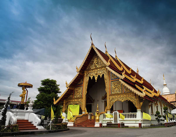 Chiang Mai Province Photograph - Wat Phra Singh Temple Chiang Mai by Edenexposed