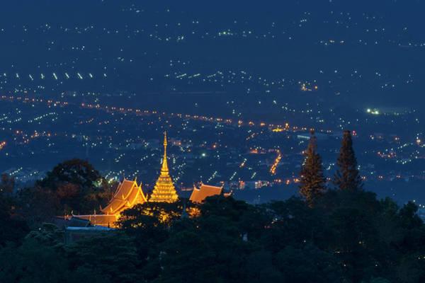 Chiang Mai Province Photograph - Wat Phra That Doi Suthep In Chiangmai by Www.tonnaja.com