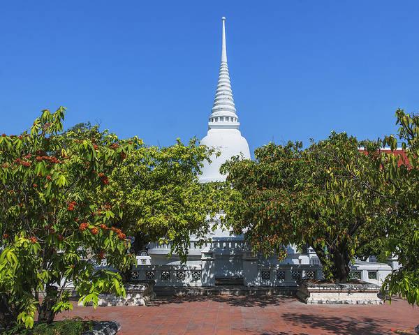 Photograph - Wat Prot Ket Chettharam Singhalese-style Chedi Dthb1897 by Gerry Gantt