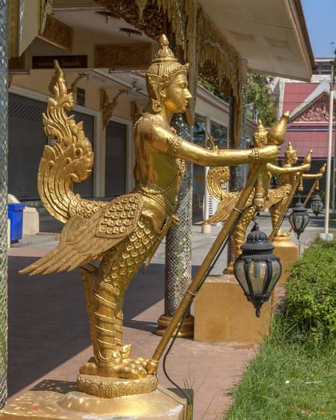 Photograph - Wat Songtham Kinaree Dthb1923 by Gerry Gantt