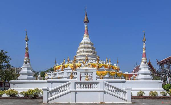 Photograph - Wat Songtham Phra Chedi Dthb1915 by Gerry Gantt