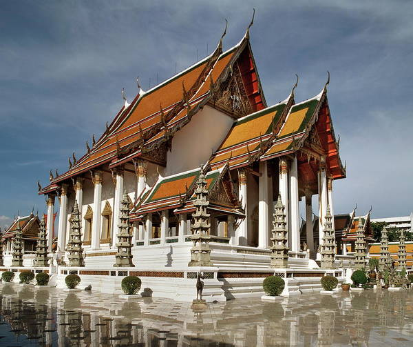 Wat Suthat Photograph - Wat Suthat Dating From The First Half by Luca Tettoni / Robertharding