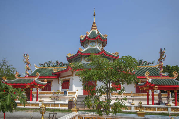 Photograph - Wat Thung Setthi Chinese Shrine Dthb1561 by Gerry Gantt