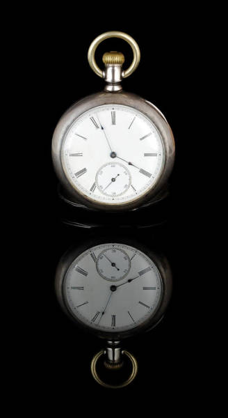 Photograph - Watch And Reflection by Jim Hughes
