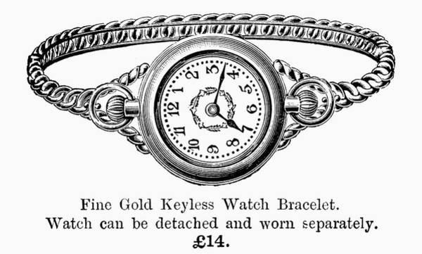 Artifact Painting - Watch Bracelet, 1891 by Granger