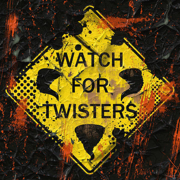 Tornado Digital Art - Watch For Twisters by David G Paul