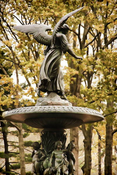 Photograph - Watchful Angel by Alice Gipson
