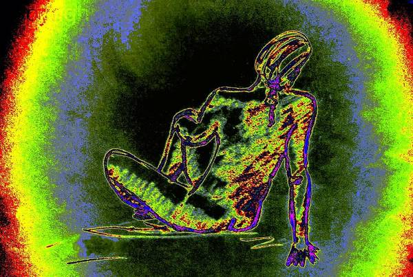 Sexuality Mixed Media - Watching by Genio GgXpress