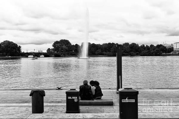 It Professional Photograph - Watching It Go Up Mono by John Rizzuto