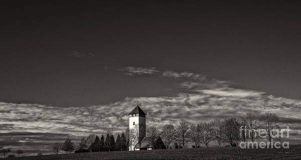 Photograph - Watching Over Buchheim by Bernd Laeschke