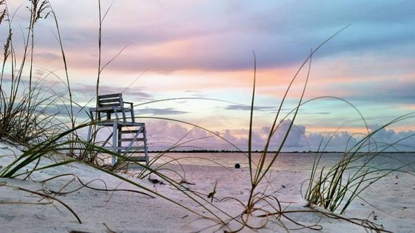 Pensacola Photograph - Watching Over Pensacola Bay by JC Findley