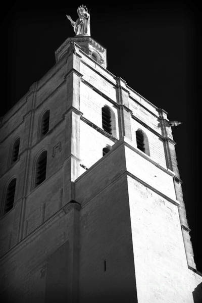 Wall Art - Photograph - Watching Over The Papal Palace by John Rizzuto