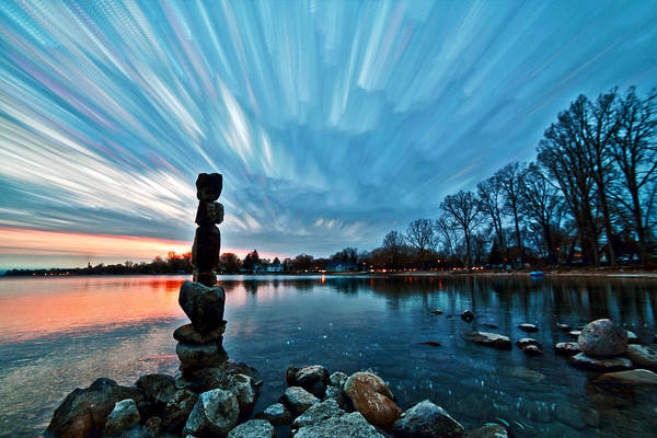 Wall Art - Photograph - Watching The Clouds Pass by Matt Molloy