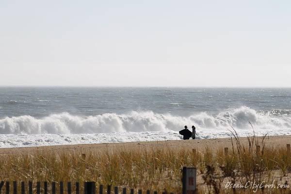 Photograph - Watching Waves by Robert Banach