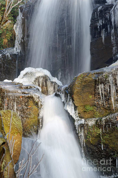 Photograph - Water And Ice And Rock 6 by David Birchall