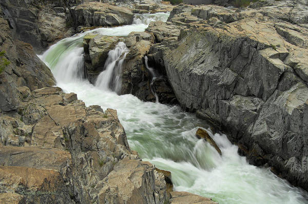 Yuba River Photograph - Water Canyon by Donna Blackhall