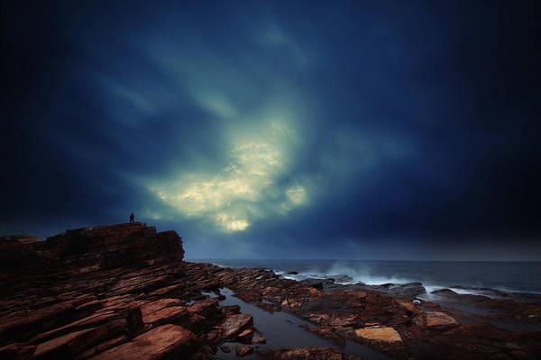 Hongkong Photograph - Water Cloud by Afrison Ma