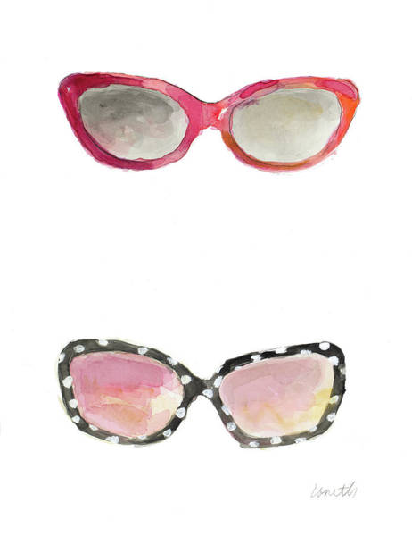 Sunglasses Painting - Water Color Sunglasses I by Lanie Loreth