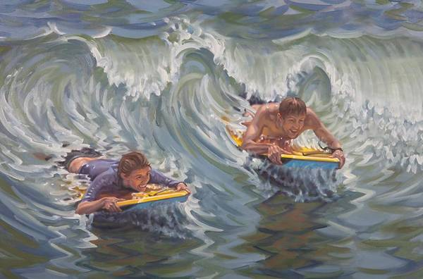 Painting - Water Date by Gary M Long