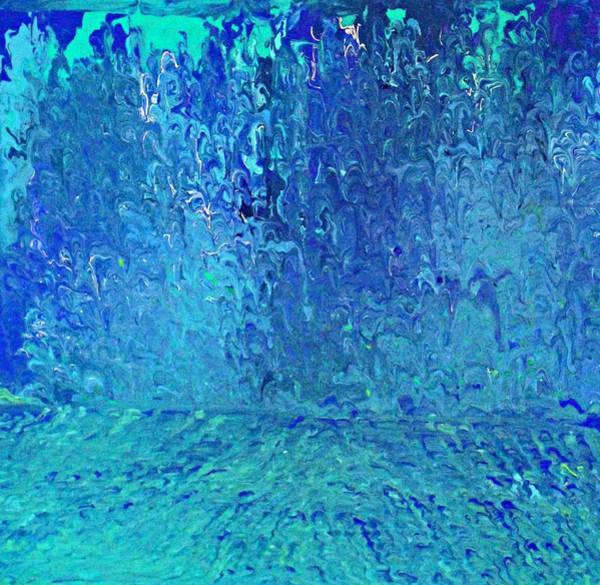 Painting - Water Down by Cyryn Fyrcyd