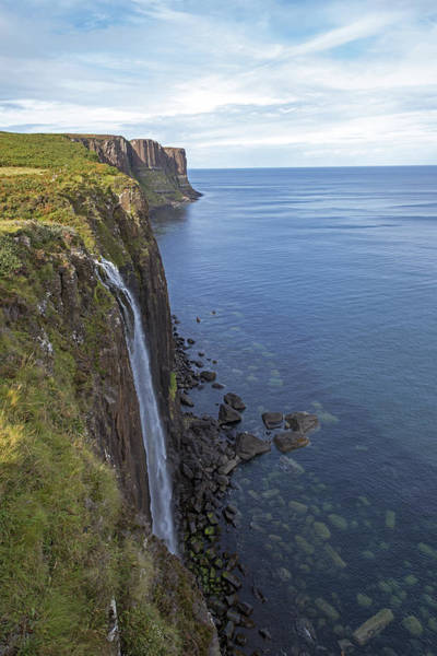 Photograph - Kilt Rock Waterfall, Isle Of Skye, Uk by Dubi Roman