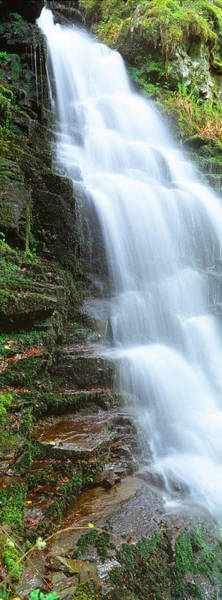 Peacefulness Photograph - Water Falling From Rocks, Aberfeldy by Panoramic Images