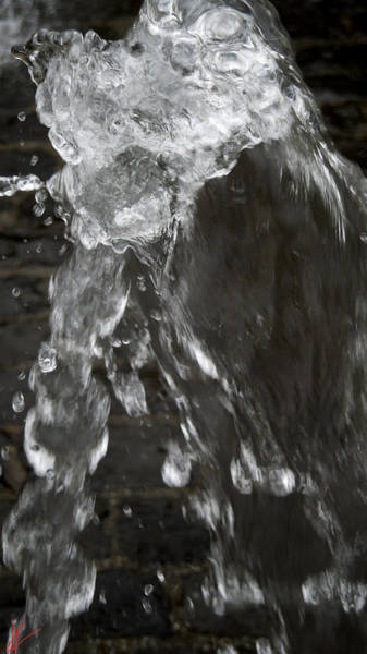 Photograph - Water Flash Rapperswill Switzerland by Colette V Hera  Guggenheim