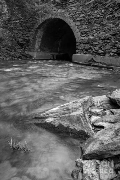 Photograph - Cornish Mill Bridge by Edward Fielding