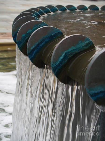 Photograph - Water Fountain Natural Art In Progress by Robin Maria Pedrero