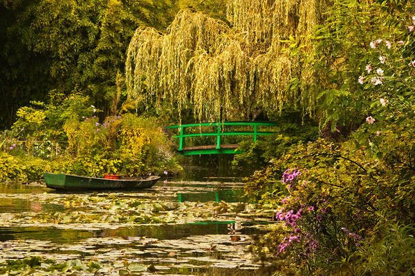 Giverny Photograph - Water Garden by John Galbo