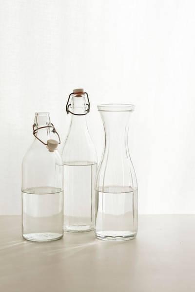 Drinking Glass Photograph - Water Glass by Renáta Dobránska